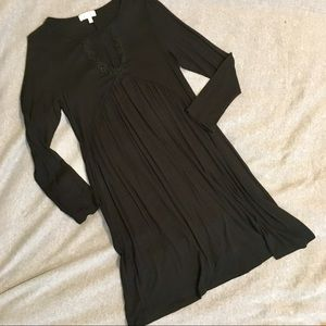 Black Cut-Out Flowy Dress